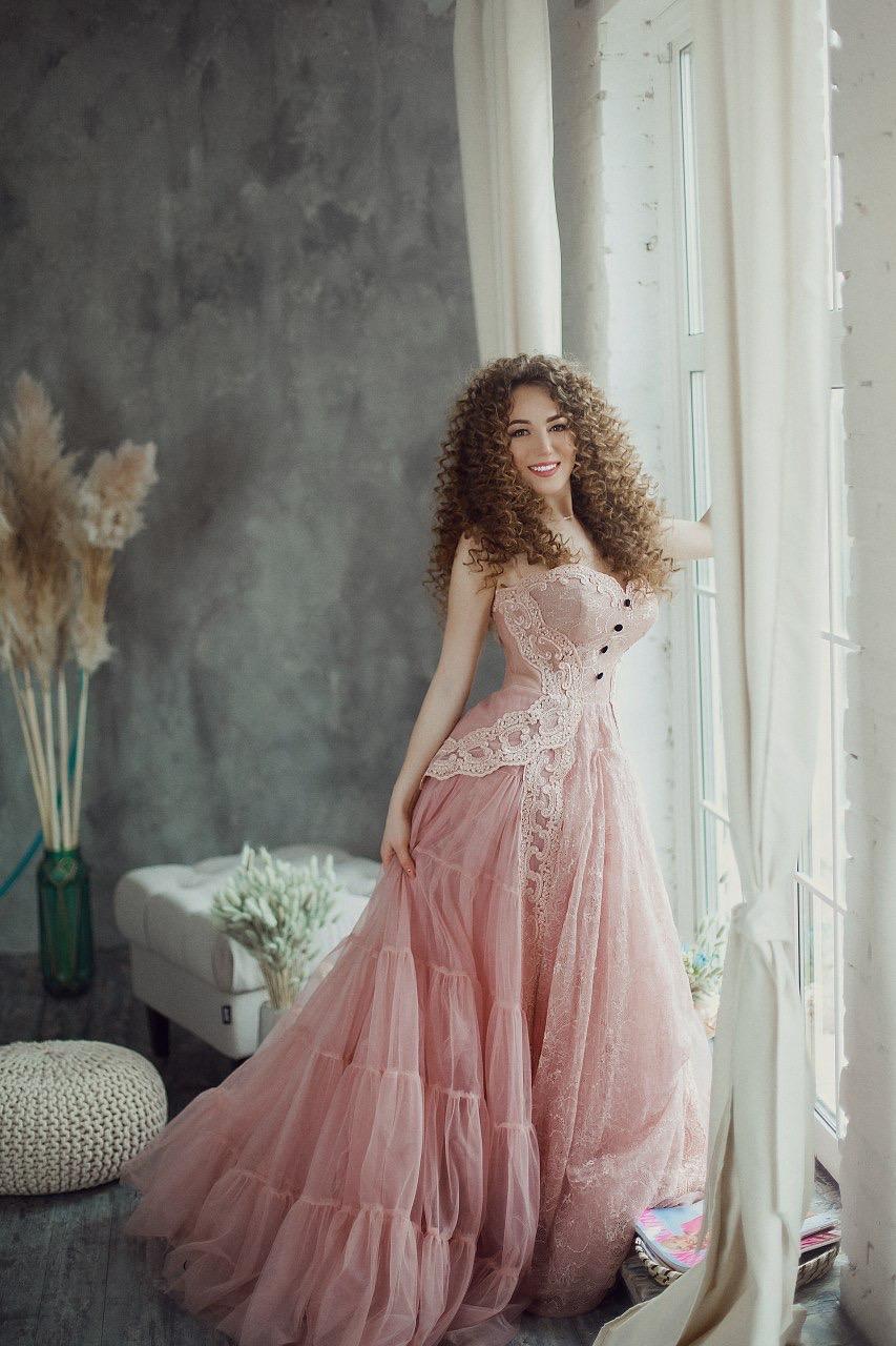 Винтажное пышное платье прокат киев аренда