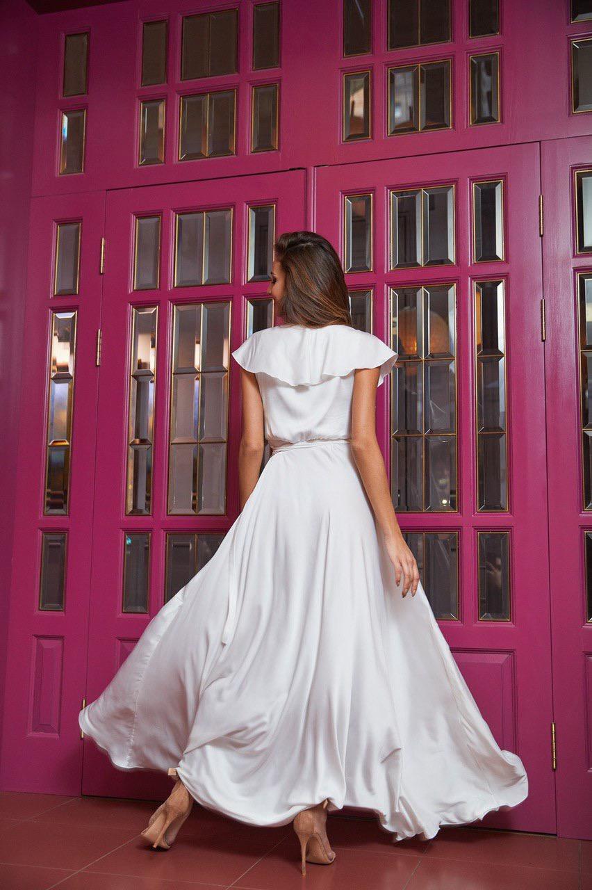 летящее белое платье напрокат киев для фотосессии