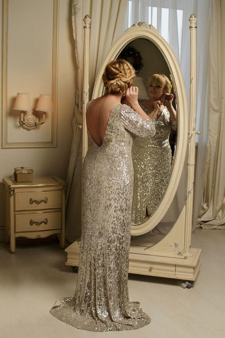 вечерние платья больших размеров киев