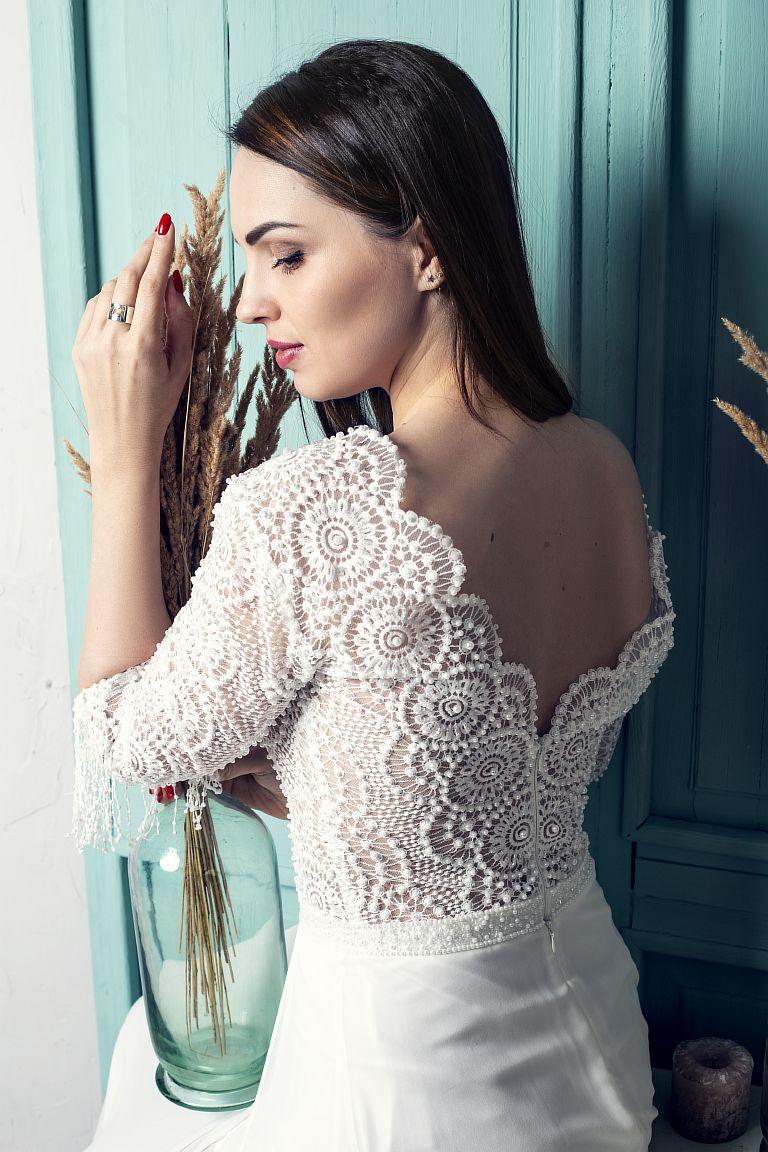 свадебное платье в стиле бохо прокат киев