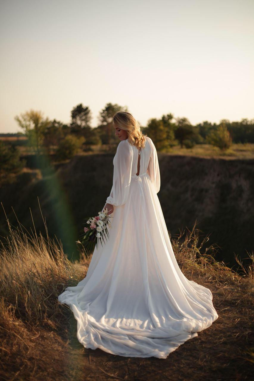 платье свадебное бохо киев прокат