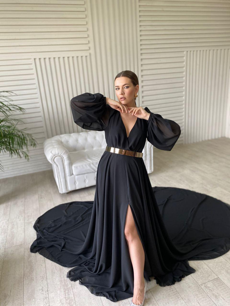 аренда черного платья киев