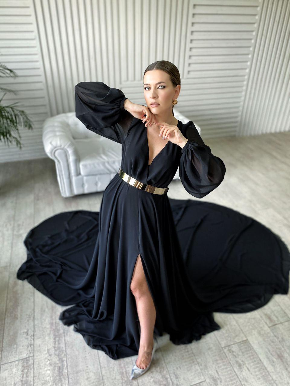 оренда чорної сукні Київ
