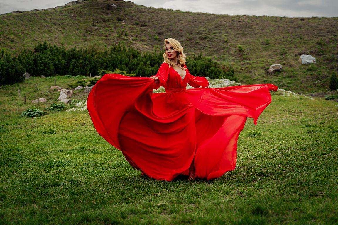 прокат красного платья для фотосессии в киеве