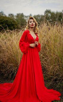 аренда красного платья для фотосессии в киеве