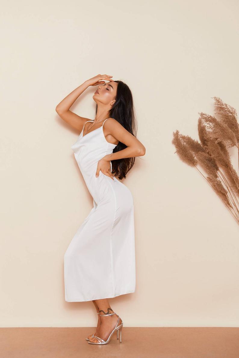 платье комбинация белая киев прокат
