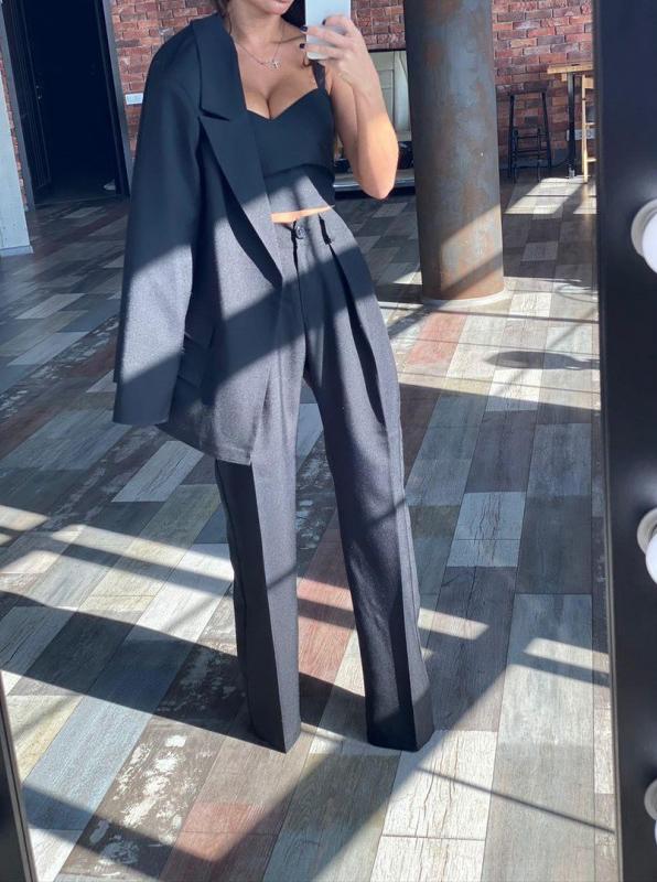 женский брючный костюм аренда киев