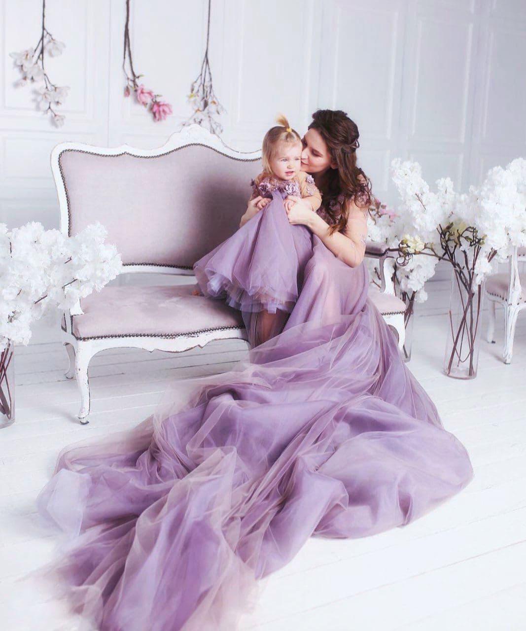 платья для мамы и дочки аренда киев