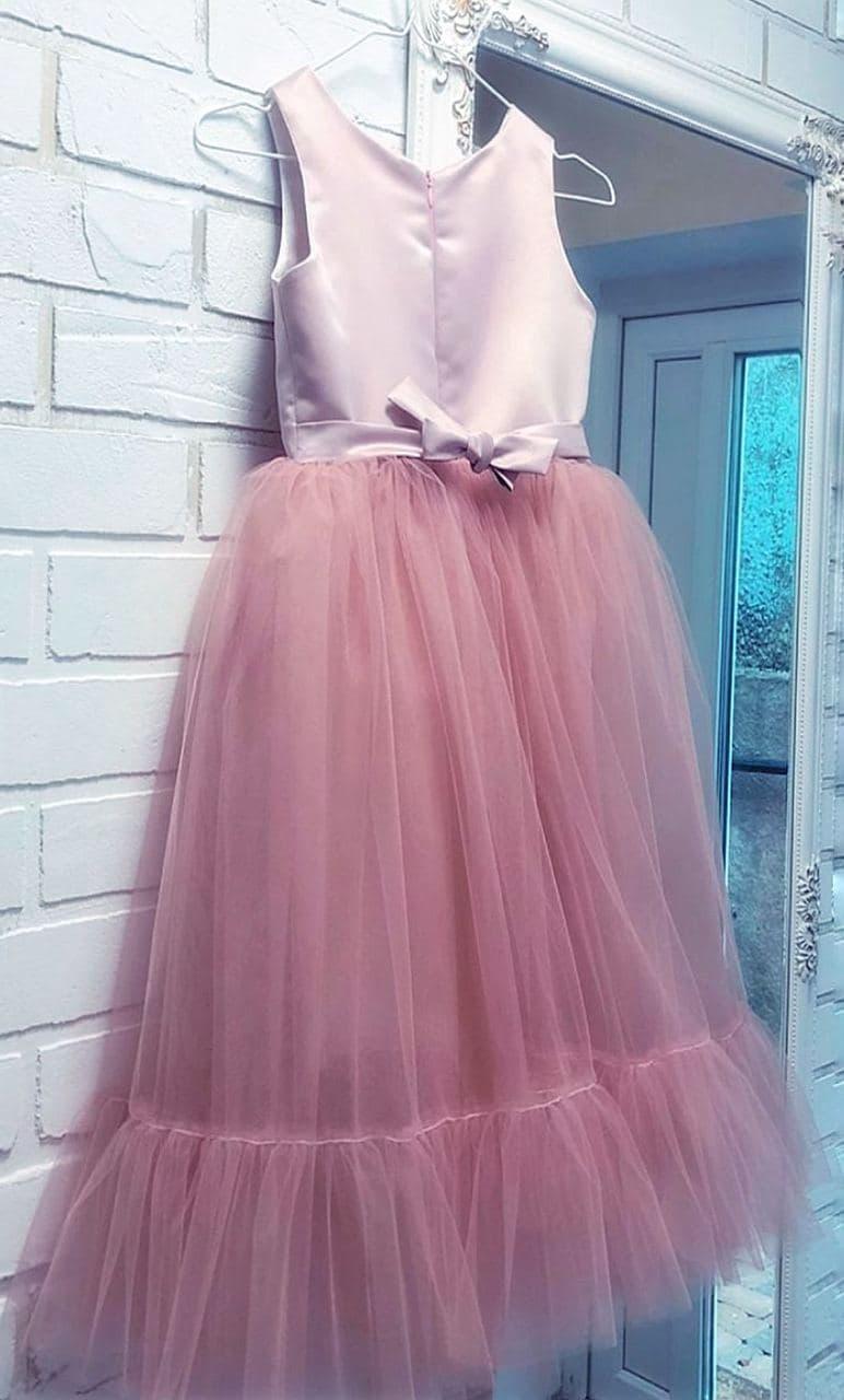 детское пышное платье пудра прокат на утренник
