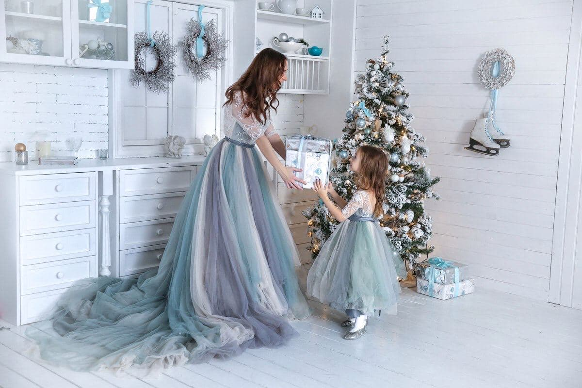 платье мама дочь киев прокат