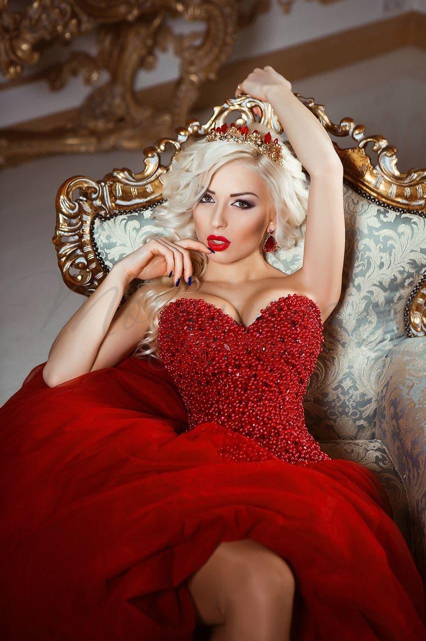 Красное платье прокат
